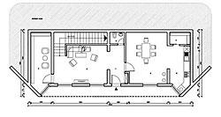 Osnova spratne kuće - prizemlje