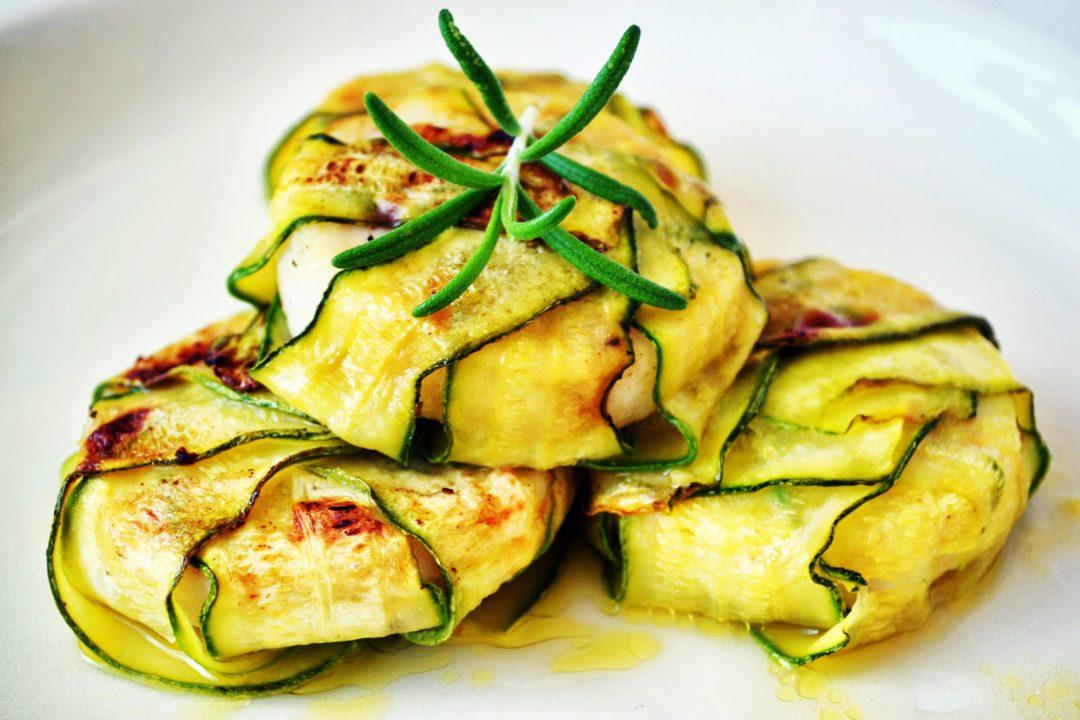 Courgettes dish - ibiza local produce