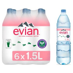 Evian Water 1,5l / pack of 6