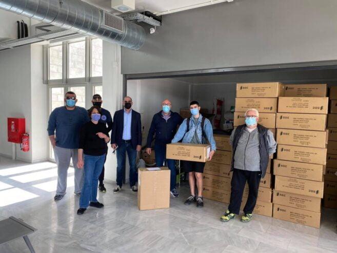 Η εταιρεία BBE Solutions GmbH προσέφερε 100.000 μάσκες