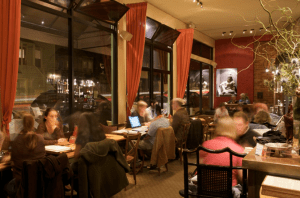 A Slow Evening at Samovar Mission-Castro