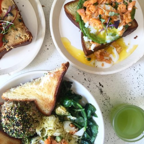 delicious food at San Francisco Tea Houses & Tea Lounges
