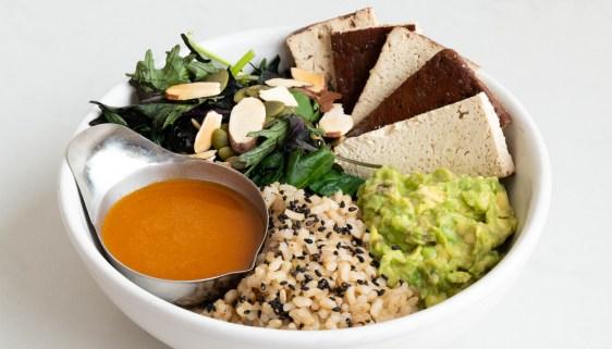 Tofu, Rice & Veggies Bowl