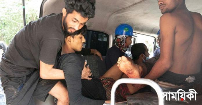 2 3 চট্টগ্রামের বাঁশখালীতে বিদ্যুৎকেন্দ্রের শ্রমিক-পুলিশ সংঘর্ষে ৫শ্রমিক নিহত