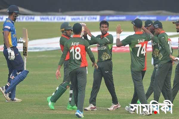 News24 ban win শ্রীলঙ্কার বিপক্ষে প্রথম ওয়ানডেতে ৩৩ রানে জিতলো বাংলাদেশ