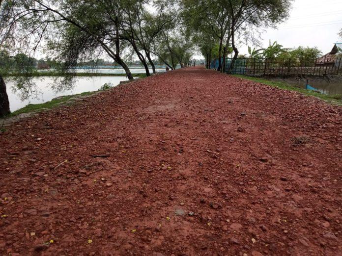 IMG20210531131851 রামপালে গুরুত্বপূর্ণ কয়েকটি সড়কের বেহালদশা, জনদূর্ভোগ চরমে
