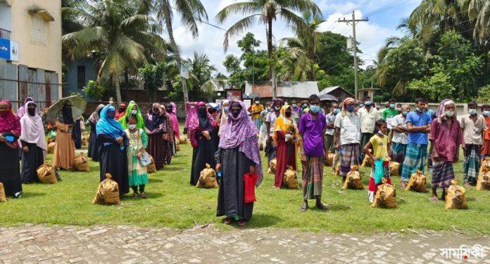 IMG 20210712 WA0003 2 1 রামপালে সাংসদ তন্ময় এর খাদ্য সহয়তা পেল ১৫০০ দুস্থ পরিবার