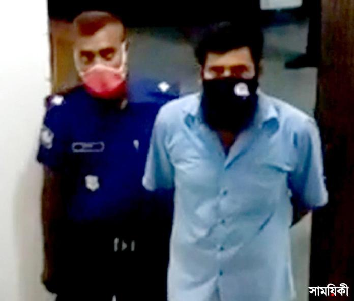 kalapara photo step father arrested for violating step daughter পটুয়াখালীতে মেয়েকে ধর্ষনের অভিযোগে বাবা গ্রেফতার