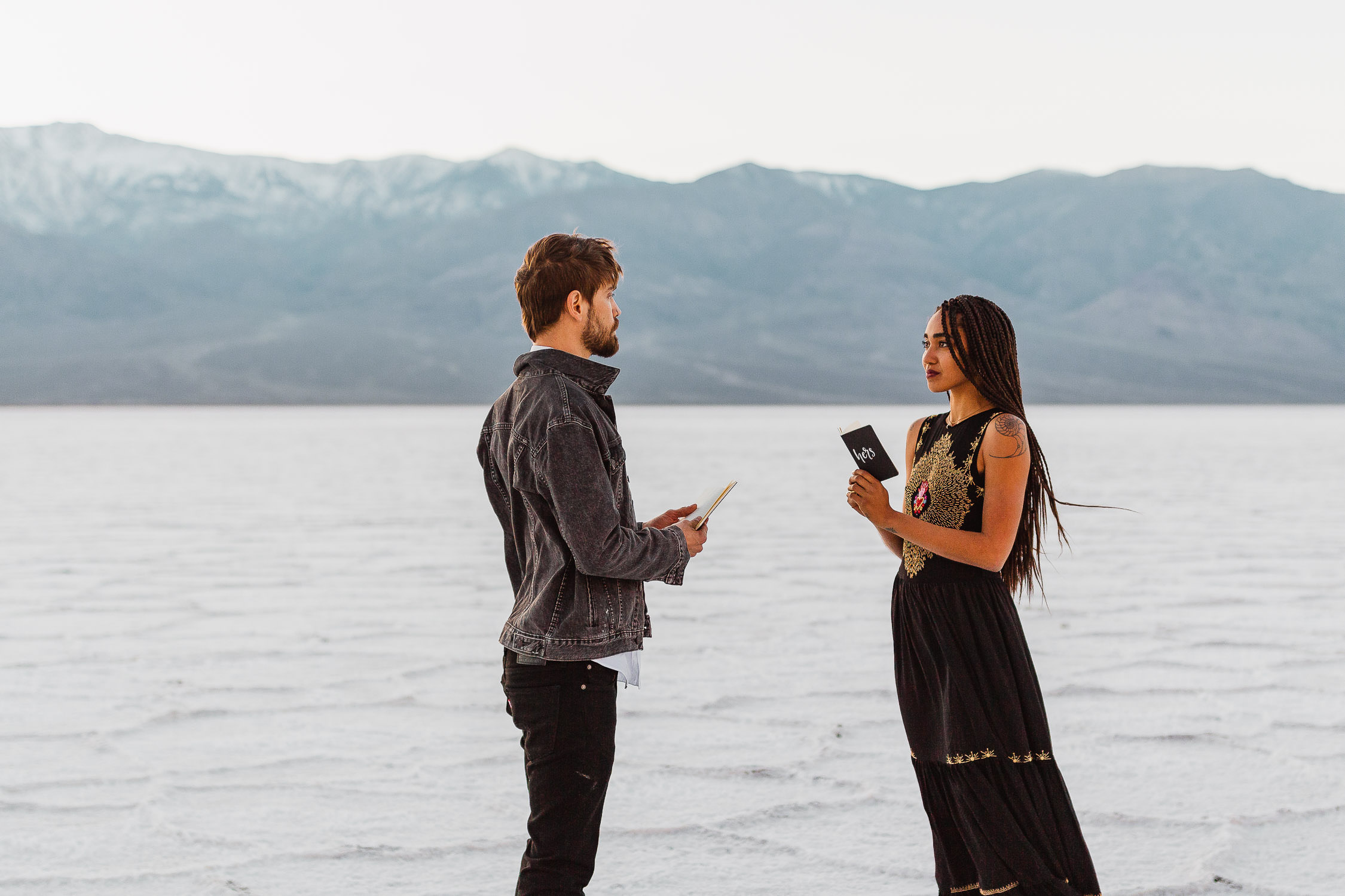 Badwater Basin Death Valley Elopement Sam Payne Photo-39