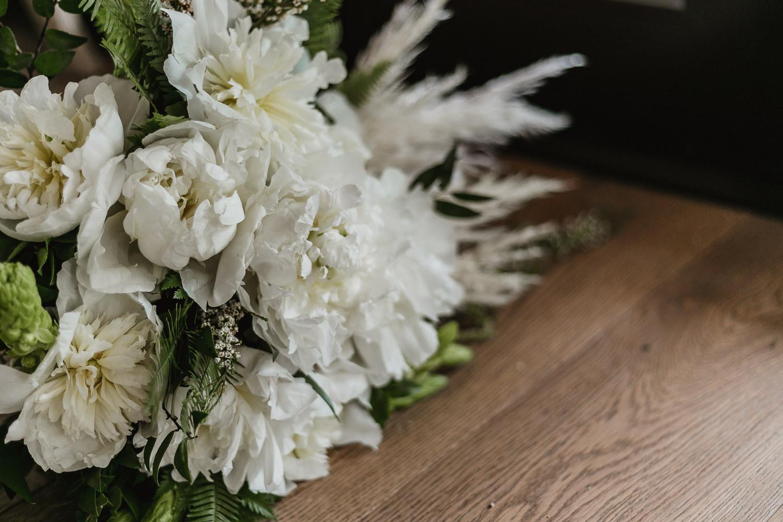 Bouquet details.