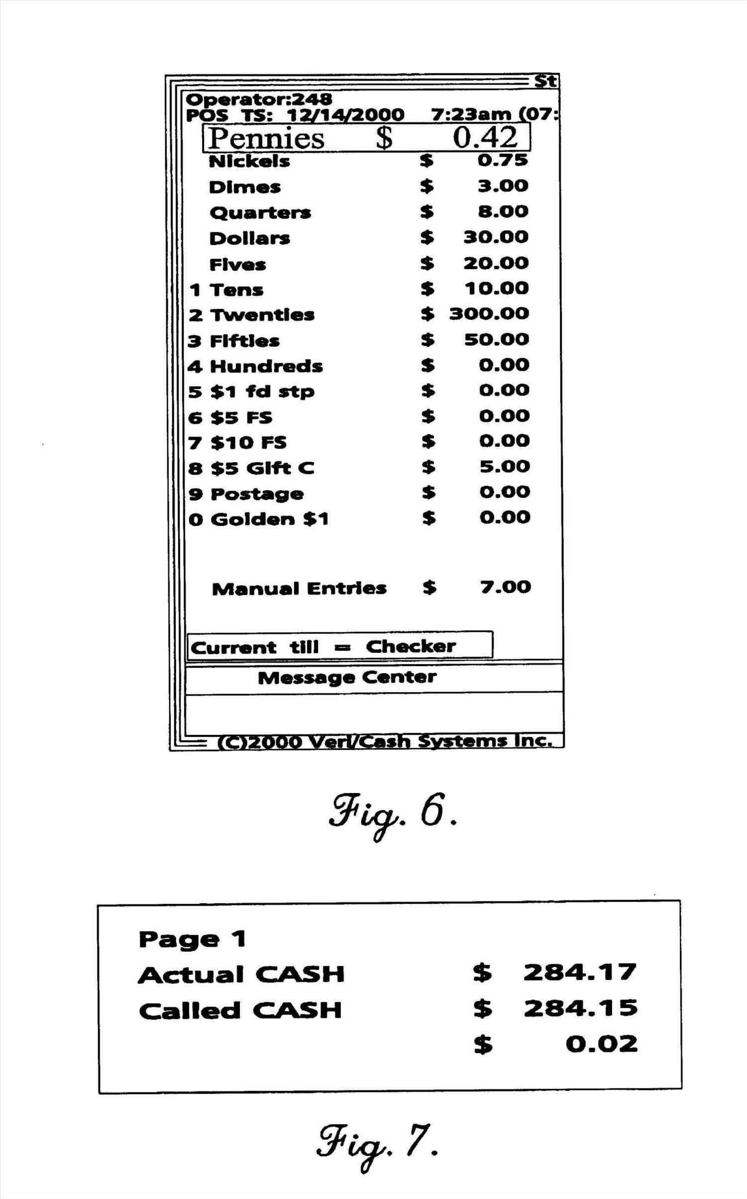 Sample Excel Templates Cash Register Excel Spreadsheet