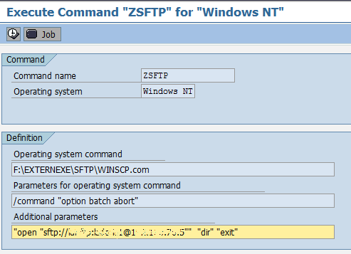 SFTP from SAP using Winscp Client - My Experiments with ABAP