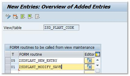 Enhanced Table Maintenance with Automatic Change Recording - My