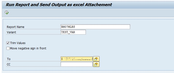 SAP - Email ALV Output as CSV Attachment - My Experiments with ABAP