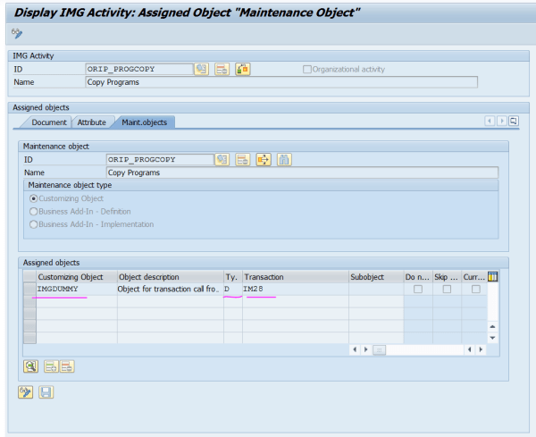 Enhance SPRO - Add Transaction Code - My Experiments with ABAP