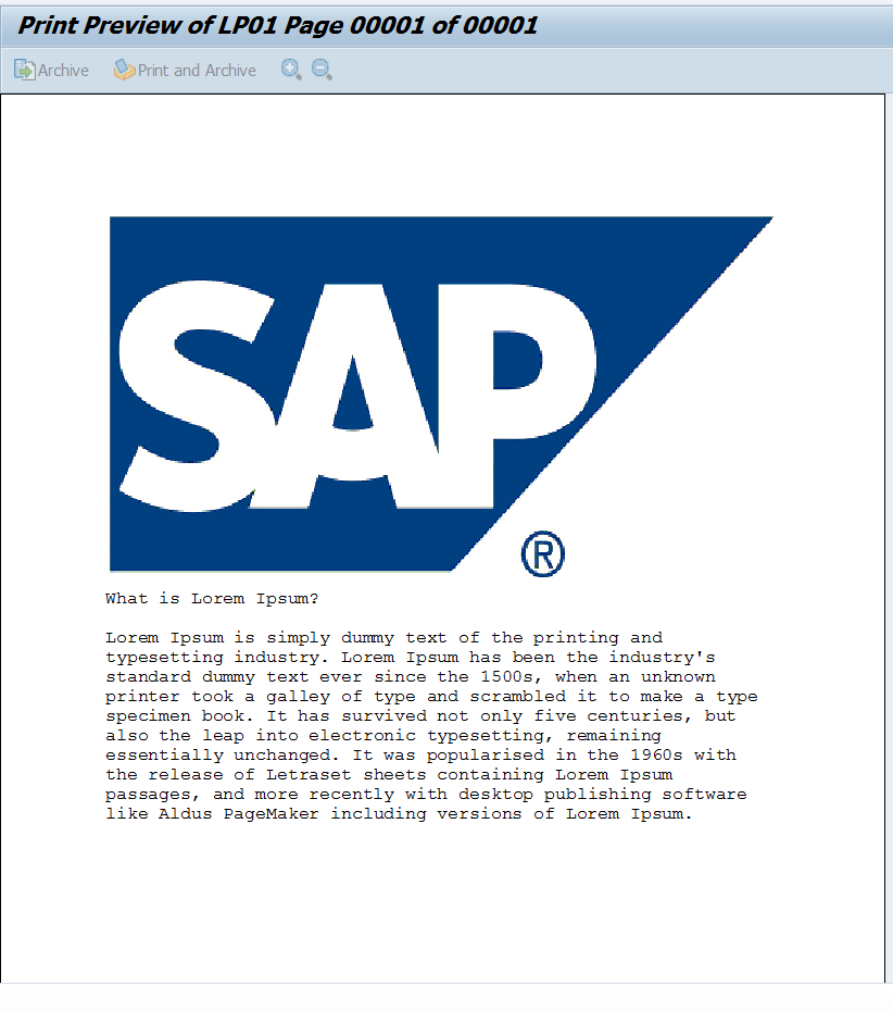 Smartform Email - My Experiments with ABAP