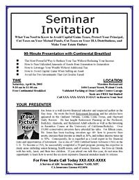 Letter Of Invitation For An Event Or A