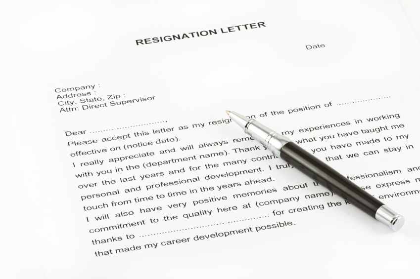 How To Write A School Counselor Resignation Letter - Cover Letter ...