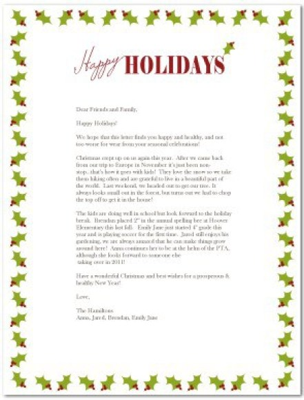7+ Family Newsletter Templates – Free Word Documents Download!