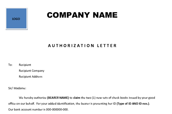 14 sample authorization letters sample letters word authorization letter 101 altavistaventures Gallery