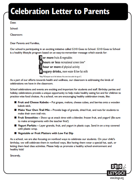 8 sample celebration letters writing