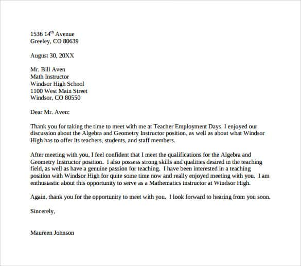 Writing a Complimentary Letter