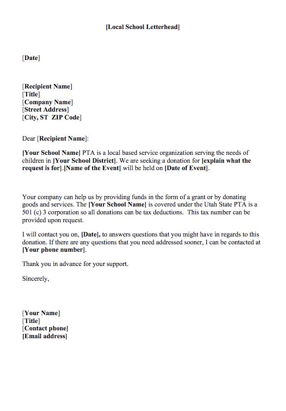 Request Letter Sample 0010 ...