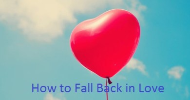 How to Fall Back in Love