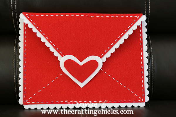 Valentines day Envelope
