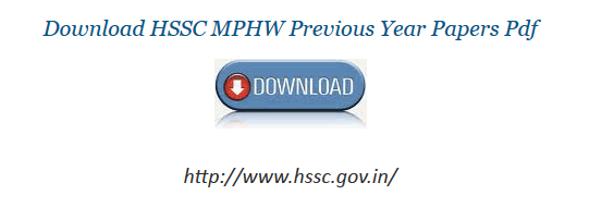 HSSC Staff Nurse MPHW Question paper 15 January 2017 pdf download - hssc.gov.in