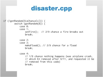 disasters.cpp