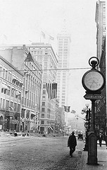Second and Columbia in Seattle, c. July 1914