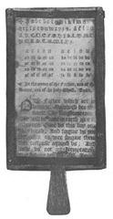 17th Century Hornbook