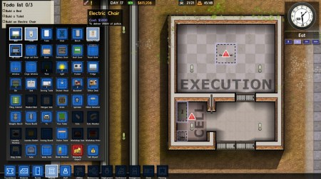 Prison Architext Execution Chamber