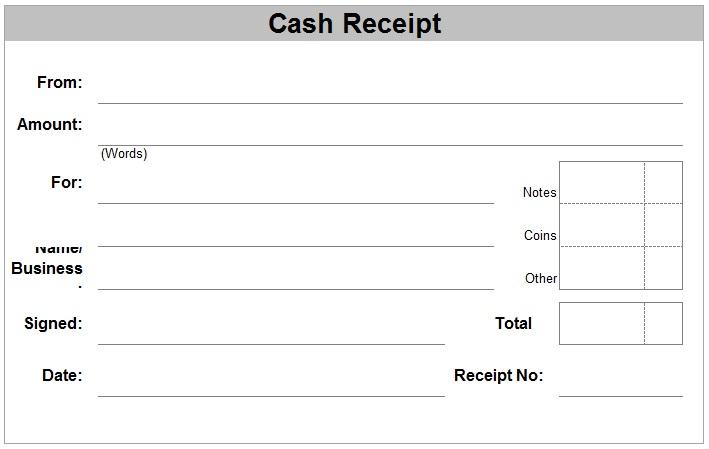 Doc571467 Sample Receipts Payment Receipt 23 Download Free – Sample Payment Receipts