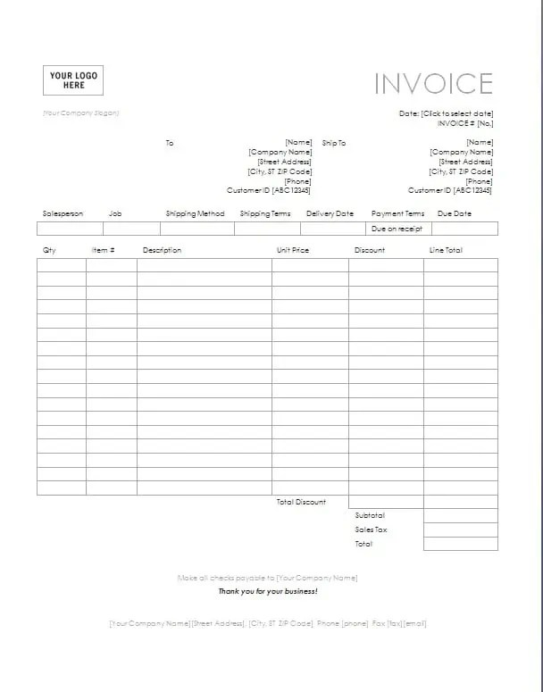 Consulting Invoice Template. Consulting Invoice Sample 8 Example