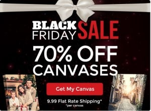 Black Friday Sale 2014 on Canvas People