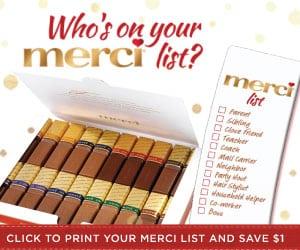 merci chocolate