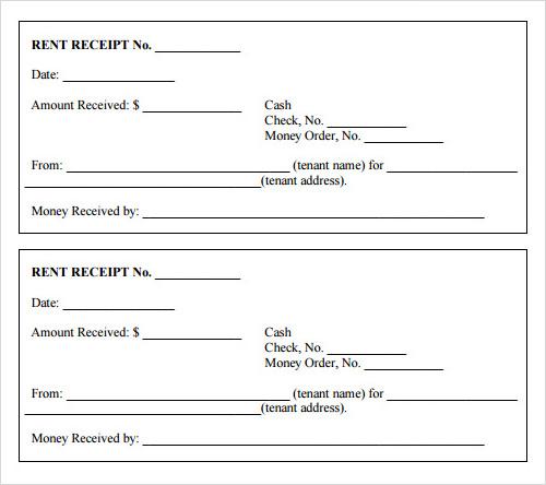 Doc650650 Printable Receipt Book free printable receipt book – Free Printable Receipts