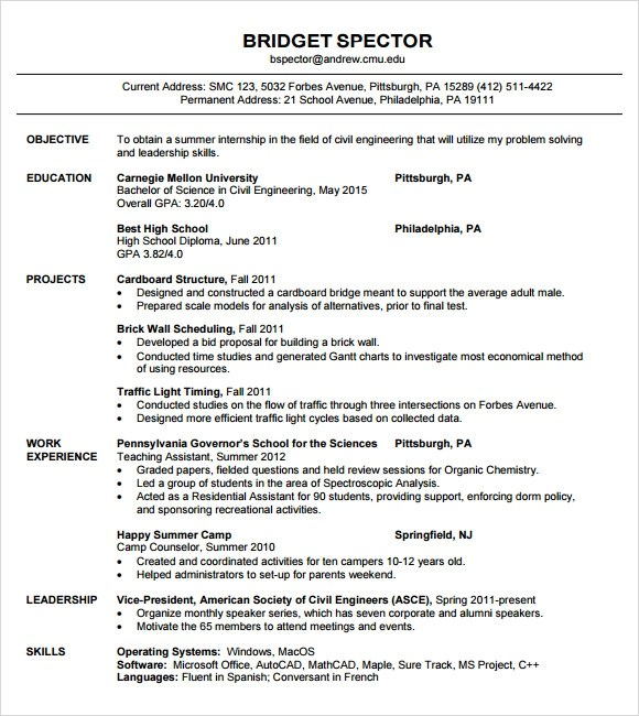 standard resume format for doctor free downloadable resume templates