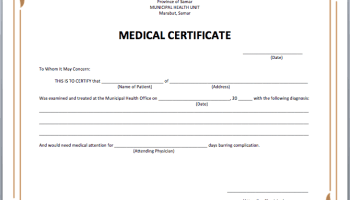 Child adoption certificate template free sample templates sample medical certificate template pronofoot35fo Image collections