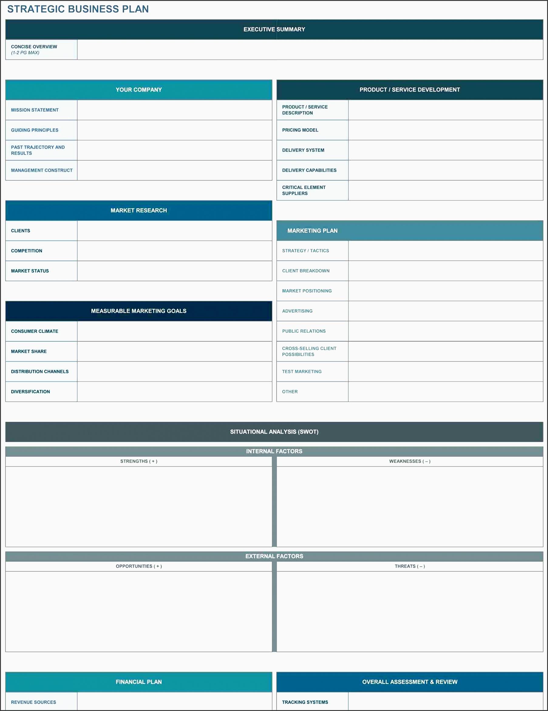 5 Advertising Plan Template In Excel