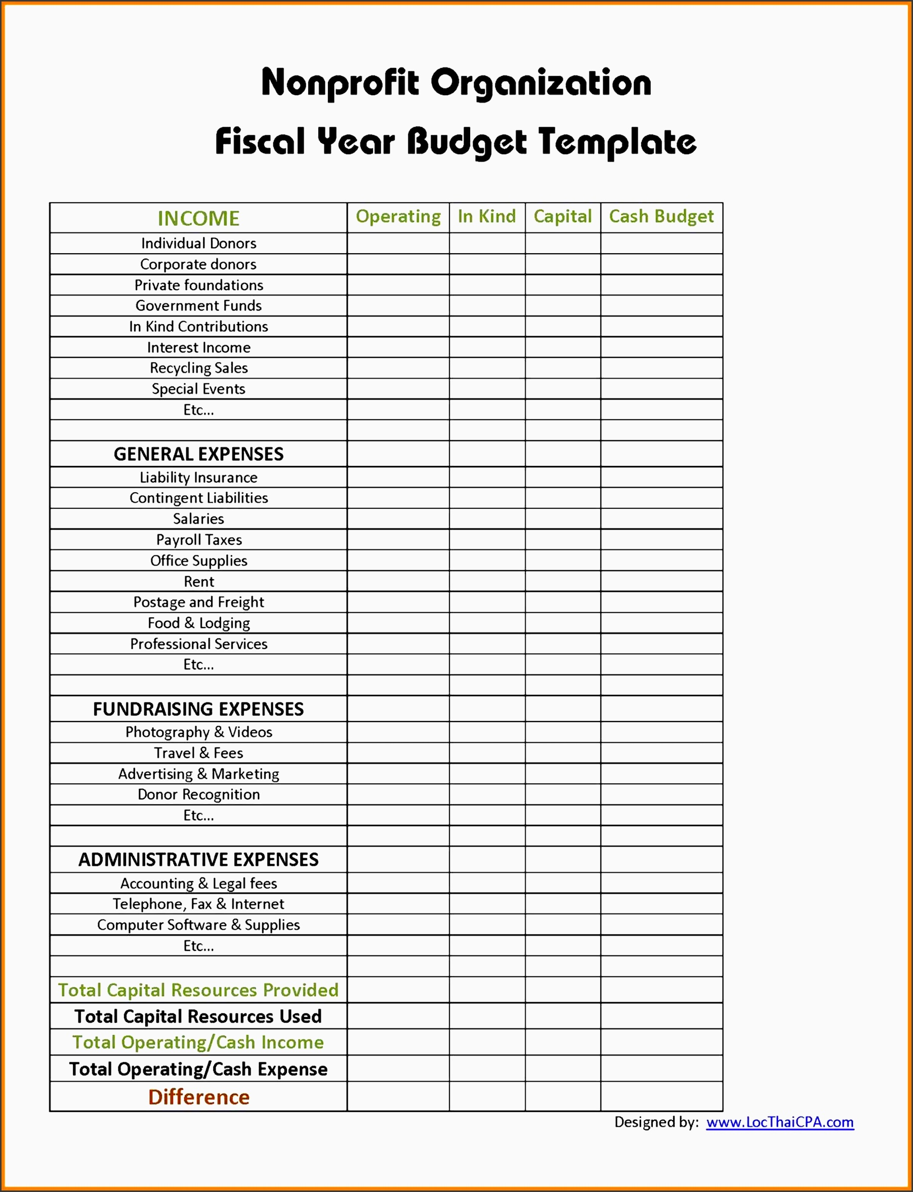 9 Create Free Vacation Cost Planner