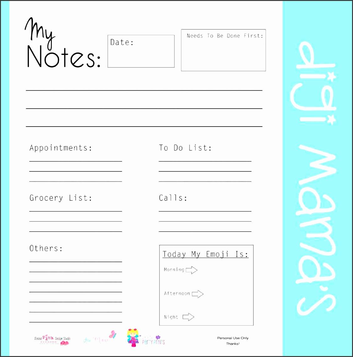 6 Editable To Do List Template