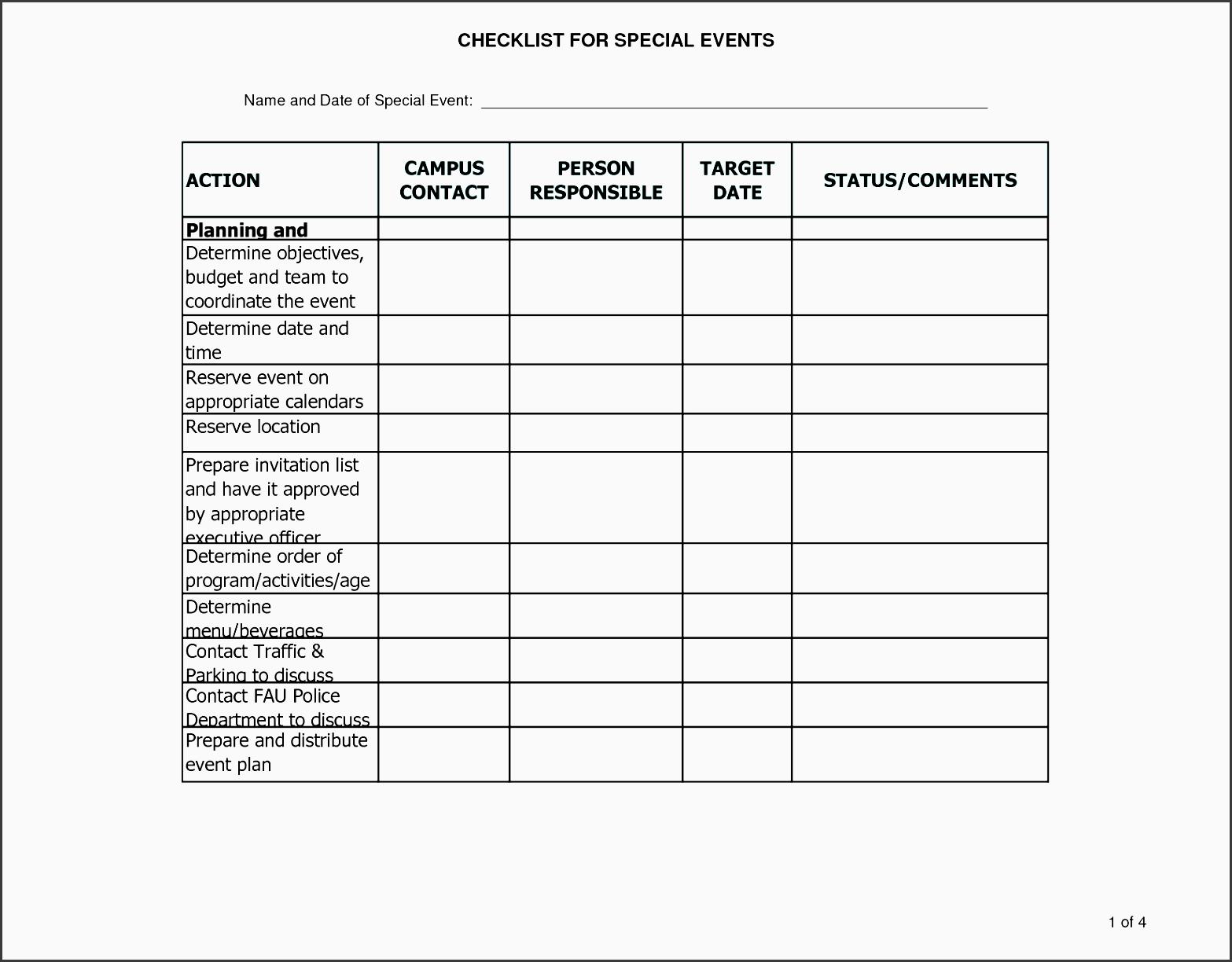 7 Estate Planning Checklist Template