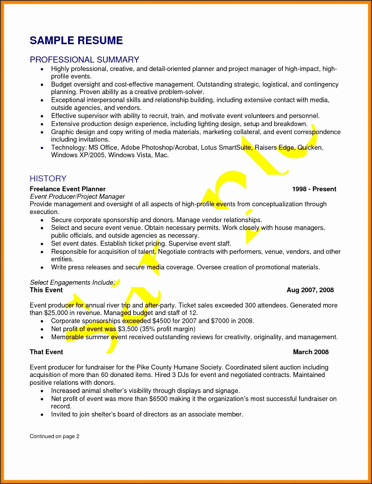 Sponsorship Sales Job Description