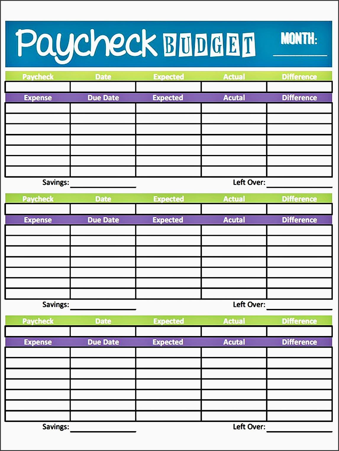10 Make Free Family Budget Planner Online