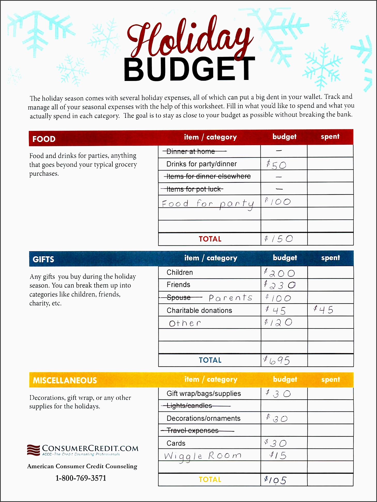 9 Vacation Cost Planner Template