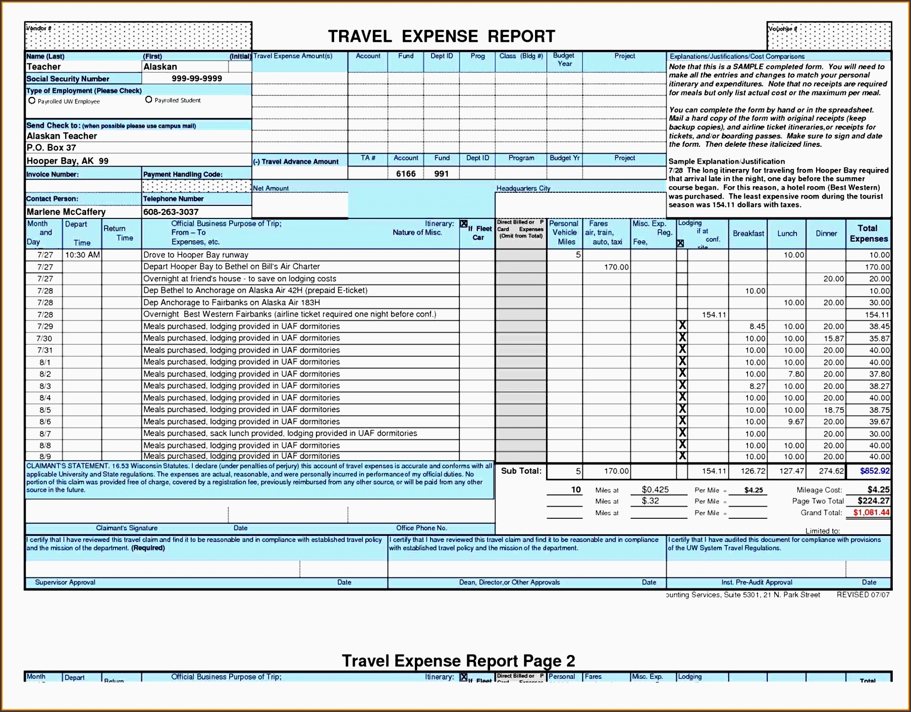 8 Vacation Itinerary Planner Template Editable