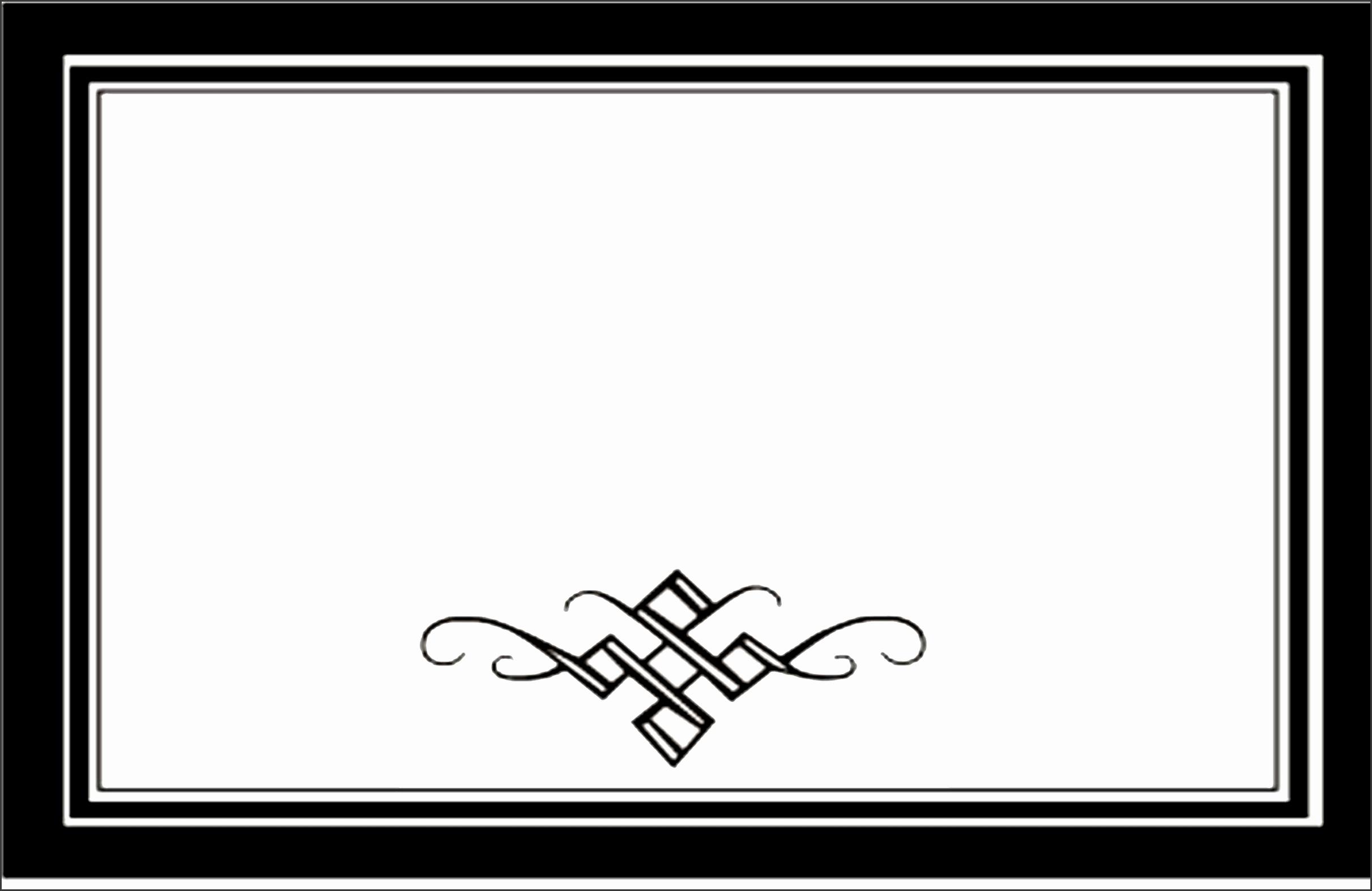 10 Formal Invitation Border Template